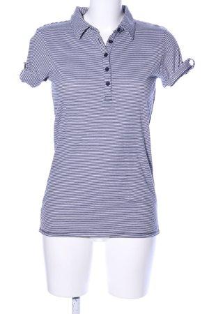 Marc O'Polo Stripe Shirt white-blue striped pattern casual look