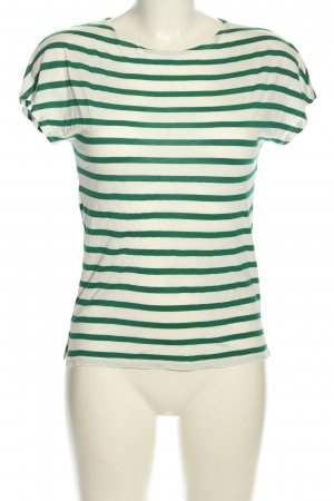 Marc O'Polo Stripe Shirt white-green allover print casual look