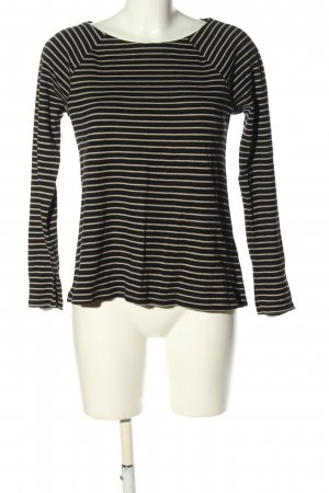 Marc O'Polo Stripe Shirt black-cream striped pattern casual look