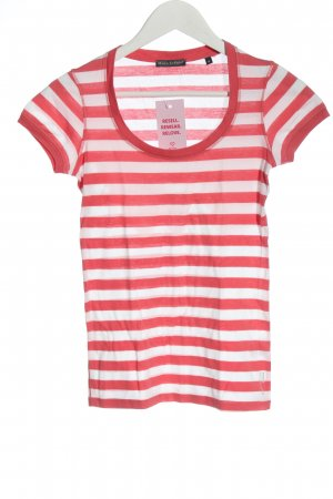 Marc O'Polo Stripe Shirt red-white striped pattern casual look
