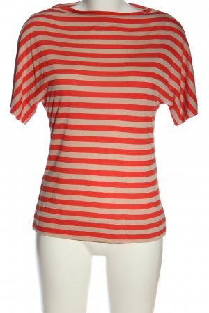 Marc O'Polo Camisa de rayas rojo-crema look casual