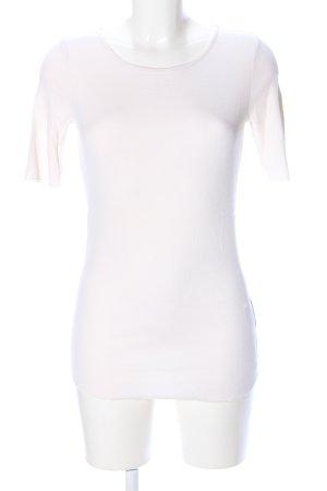 Marc O'Polo Camisa acanalada blanco look casual