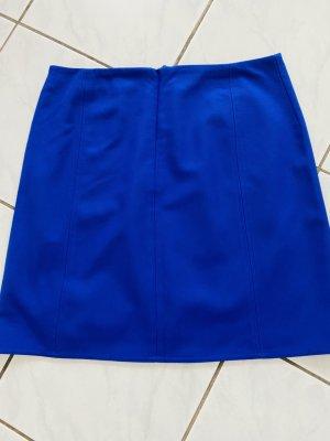Marc O'Polo Mini rok neon blauw Wol