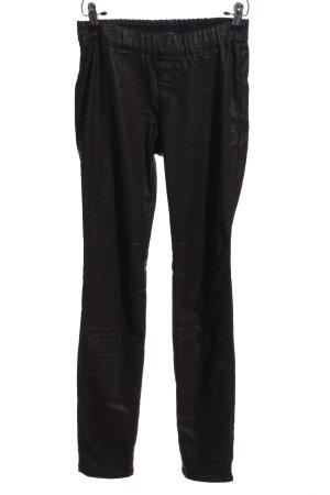 Marc O'Polo Pantalón de tubo negro estilo fiesta