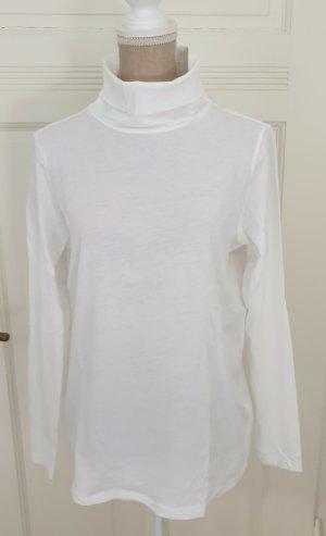 Marc O´Polo Rollkragen-Shirt weiß, Damen, M, NEU