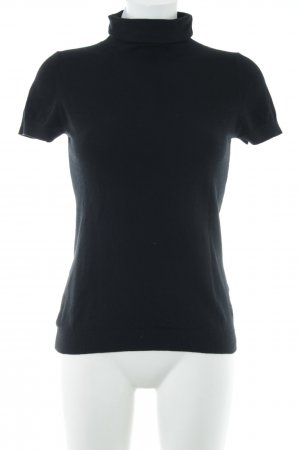 Marc O'Polo Turtleneck Shirt black mixture fibre