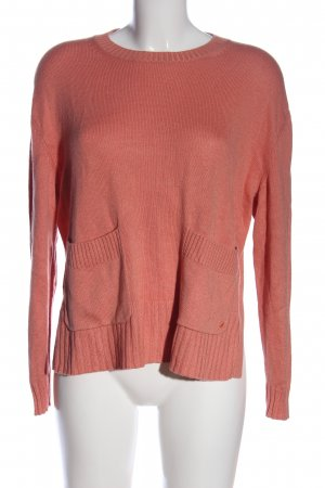 Marc O'Polo Rundhalspullover pink Casual-Look