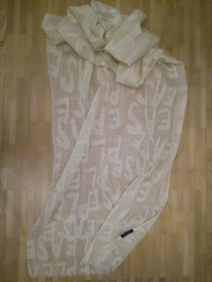Marc O'Polo Sciarpone beige chiaro-bianco sporco