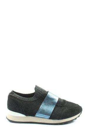 Marc O'Polo Schlüpfsneaker schwarz-blau Casual-Look