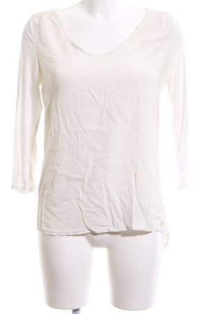 Marc O'Polo Slip-over blouse wolwit casual uitstraling