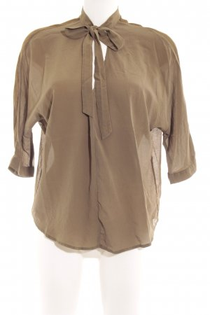 Marc O'Polo Schlupf-Bluse khaki Casual-Look