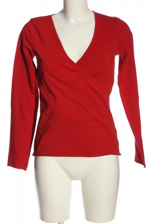 Marc O'Polo Schlupf-Bluse rot Casual-Look