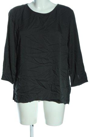 Marc O'Polo Schlupf-Bluse schwarz Casual-Look