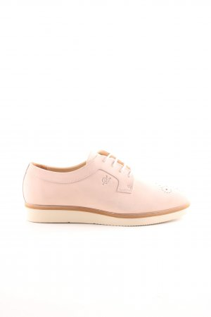 Marc O'Polo Schnürschuhe pink Casual-Look