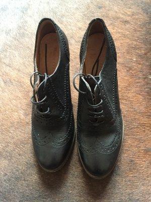 Marc O'Polo Bottines à lacets noir