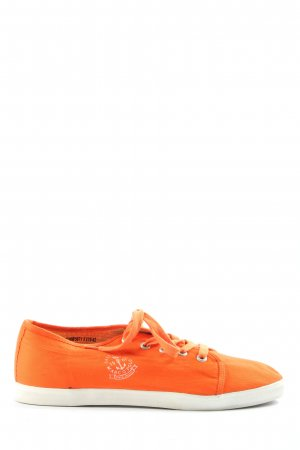 Marc O'Polo Schnürsneaker hellorange Casual-Look