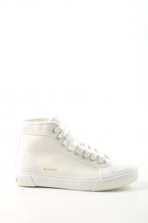 Marc O'Polo Schnürsneaker weiß Casual-Look
