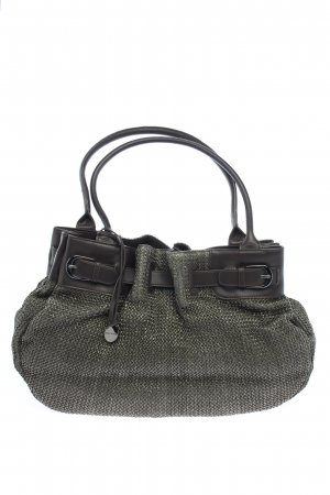 Marc O'Polo Schultertasche khaki-wollweiß Webmuster Casual-Look