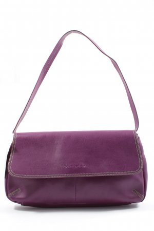 Marc O'Polo Schultertasche lila Business-Look