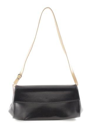 Marc O'Polo Schultertasche schwarz-wollweiß Elegant