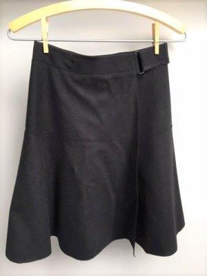 Marc O'Polo Falda cruzada negro lana de esquila