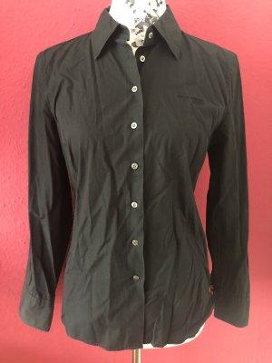 Marc O'Polo schwarze Basic Bluse