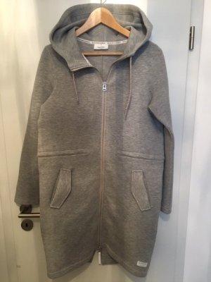 Marc O'Polo Manteau à capuche gris clair tissu mixte