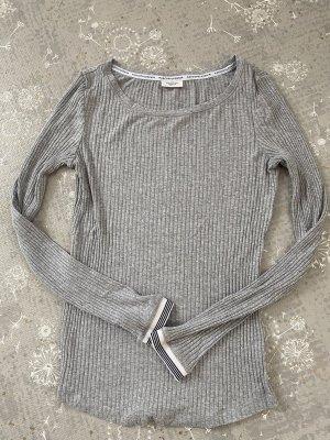Marc O'Polo DENIM Ribbed Shirt light grey