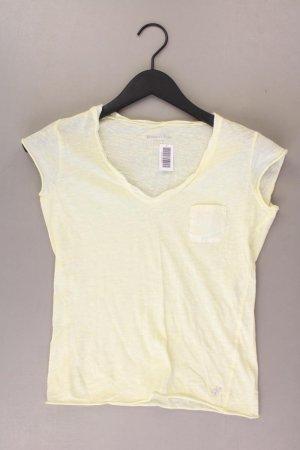 V-hals shirt geel-neongeel-limoen geel-donkergeel