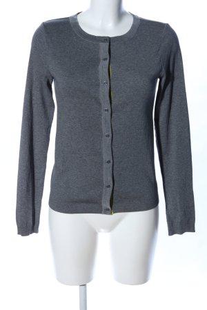 Marc O'Polo Chaqueta estilo camisa gris claro moteado look casual
