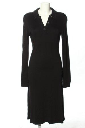 Marc O'Polo Robe t-shirt noir style décontracté