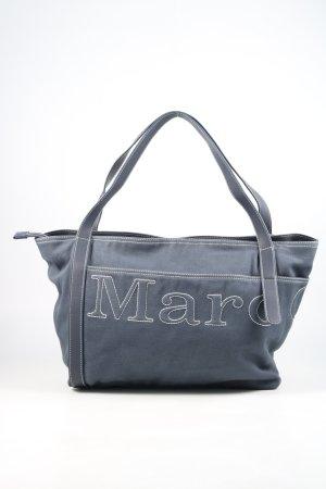 Marc O'Polo Shopper blauw casual uitstraling