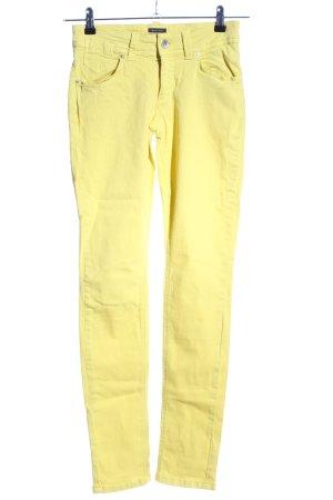 Marc O'Polo Skinny Jeans blassgelb Casual-Look