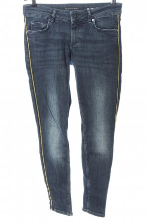 Marc O'Polo Slim Jeans blau Street-Fashion-Look