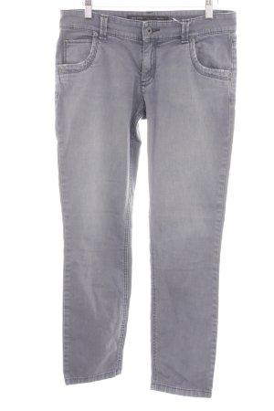 Marc O'Polo Slim Jeans hellgrau Casual-Look