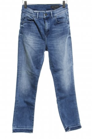Marc O'Polo Slim Jeans kornblumenblau Casual-Look