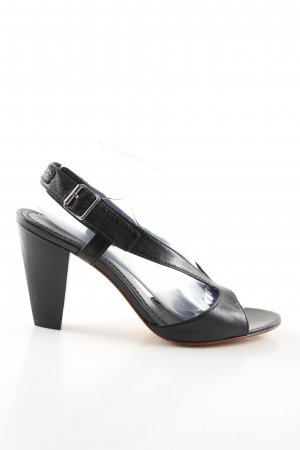 Marc O'Polo Slingback pumps zwart zakelijke stijl