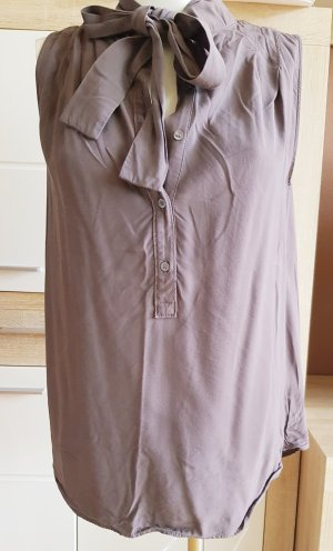 Marc O'Polo Blouse topje taupe-donkerbruin