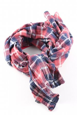 Marc O'Polo Summer Scarf check pattern casual look
