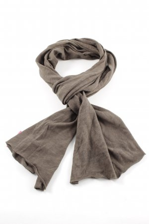 Marc O'Polo Summer Scarf brown-blue flecked casual look