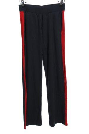 Marc O'Polo pantalonera negro-rojo estilo deportivo