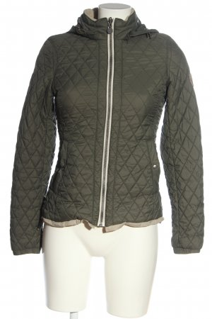 Marc O'Polo Quilted Jacket khaki quilting pattern casual look