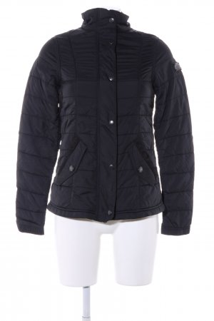 Marc O'Polo Steppjacke schwarz Steppmuster Casual-Look