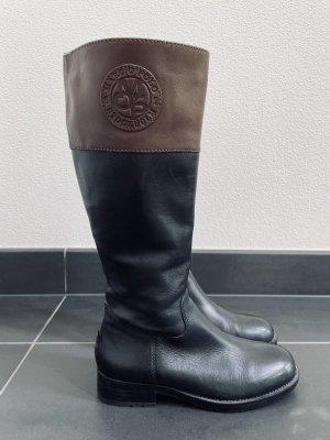 Marc O'Polo Heel Boots black-black brown