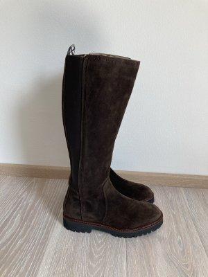 Marc O Polo Stiefel Boots braun Leder Gr. 38