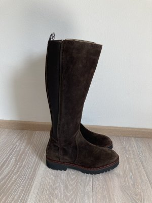 Marc O'Polo Winter Boots brown-dark brown leather