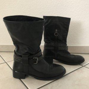 Marc O'Polo Short Boots black-silver-colored