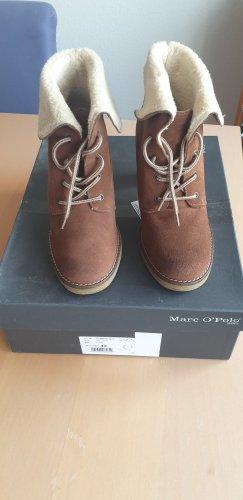 Marc O'Polo Winter boots lichtbruin