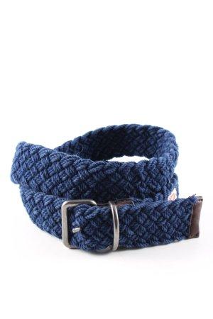 Marc O'Polo Cintura in tessuto blu stile casual