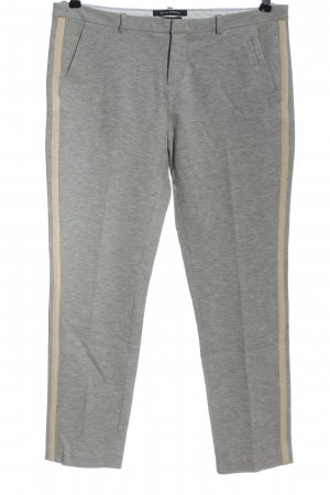 Marc O'Polo Jersey Pants light grey-natural white casual look